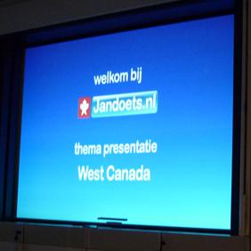 Slides presentatie