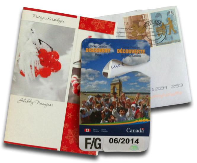 Discovery Pass Canada via Marktplaats.nl