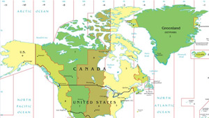 Timezones Canada