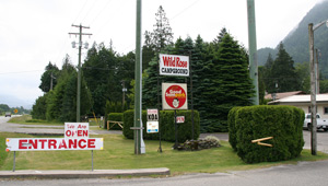 Wild Rose RV Park in Hope Canada
