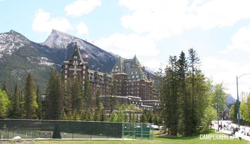 Fairmont Banff Springs Hotel in Banff