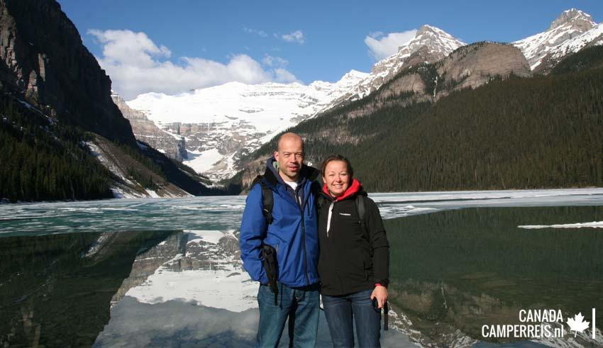 Selfie - soort van - Lake Louise
