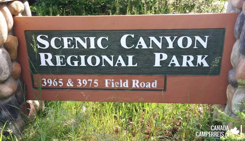 Scenic Canyon Regional Park Kelowna