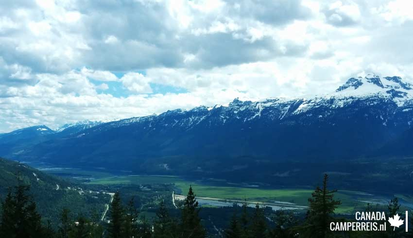 Snow Forest Viewpoint Mount Revelstoke