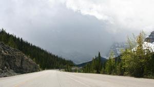 Dag 9: Eerste dag op The Icefields Parkway