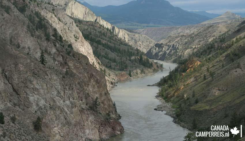 De Fraser River aan de  Hgw 97
