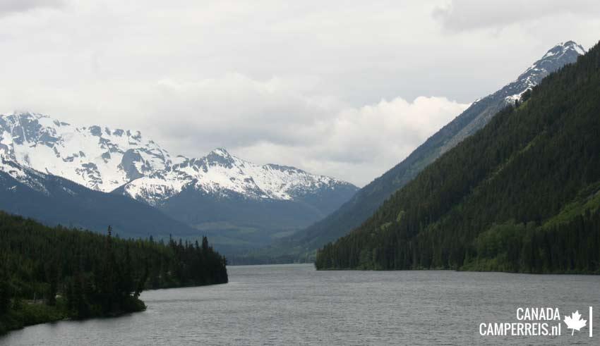Duffey Lake in Canada