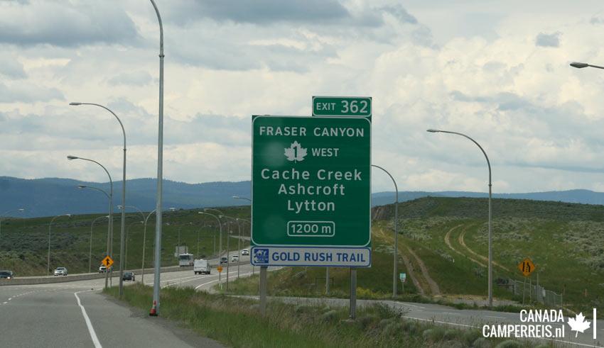 Gold Rush Trail Cache Creek