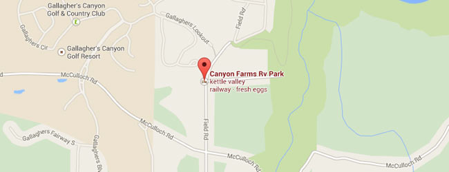 Canyon Farms RV park - Bron: Google Maps