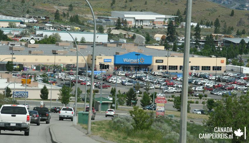 Walmart Kamloops Canada