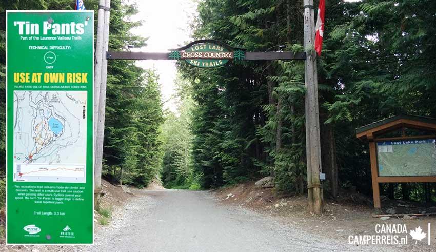 Lost- Lake Park in Whistler