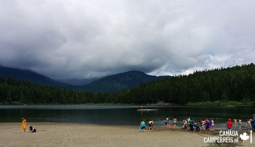 Lost Lake in Whistler