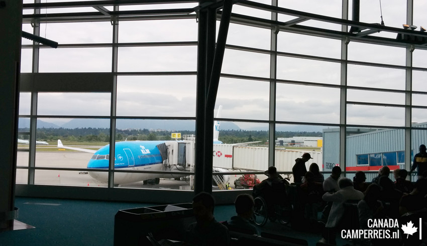 Vancouver airport KLM