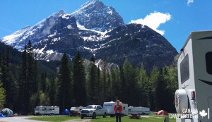 Kicking Horse Campground Canada