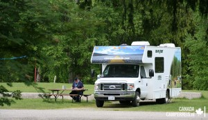 Williams Lake Campground in Revelstoke