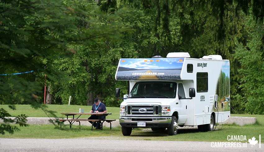 Williams Lake Campground in Revelstoke