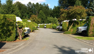 Review camping Burnaby Cariboo RV Park